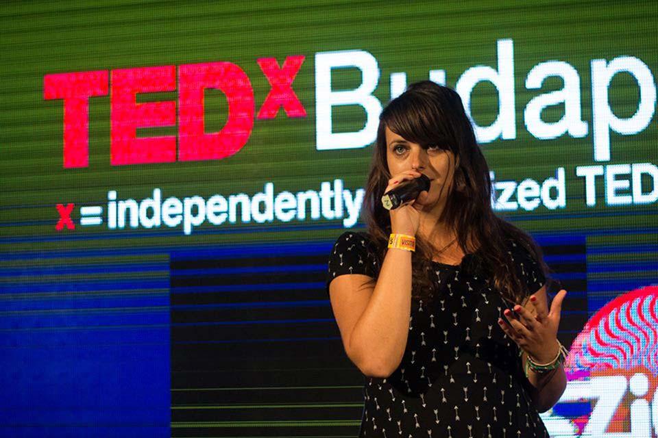 Vigh Bori előadása a TEDx Youth Budapest rendezvényén