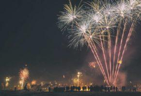 Szilveszter Izlandon - fireworks